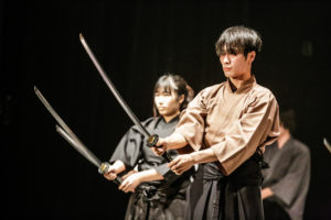 時代劇やアクション映画の世界を学ぼう!基本の型か学べる殺陣体験  @ 日本芸術専門学校
