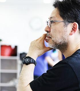 演出 山田和也先生の写真