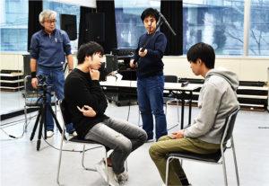 カメラの前にプロとして立つ為に学ぶ映像演技体験 @ 日本芸術専門学校